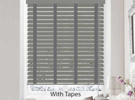 50% off Wooden Venetian blinds