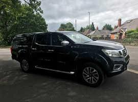 Nissan Navara, 2016 (16) Black 4x4, Manual Diesel, 064,500 miles