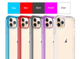 Pureshell Light Series P+TPU Bumper Clear Shockproof Case/Cover Compatible With iPhone 11 6.1 Inches