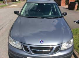 Saab 9-3, 2007 (57) Grey Saloon, Manual Diesel, 115,000 miles