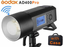 Godox AD400Pro Wireless Portable Flash with BOWENS Mount for all Camera Systems, BRAND NEW