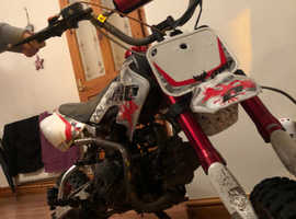 90cc Stomp Pit Bike Fully Automatic