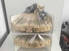 Book Folding, handmade presents