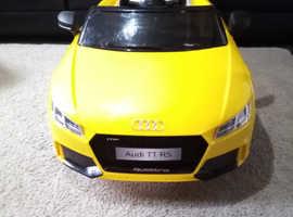 kids ride in car Audi TT RS 6V Battery Powered Ride On
