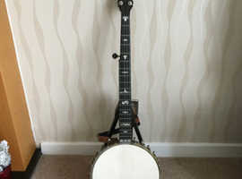 Clifford Essex Boudoir Grand (Special X) open back 5 string banjo