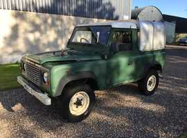 Land Rover 90 DEFENDER TDI, 1995 (M) Green 4x4, Manual Diesel, 116,411 miles