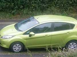 Ford Fiesta, 2009 (59) Green Hatchback, Manual Diesel, 88,000 miles