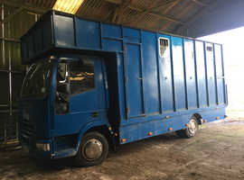 **REDUCED** 2003 7.5T Iveco Horsebox