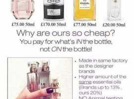 High Street perfumes