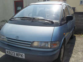 Toyota PREVIA GL, 1993 (K) Blue Estate, Manual Petrol, 158,000 miles