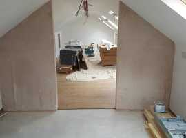 Atkinson build and maintain -plastering services