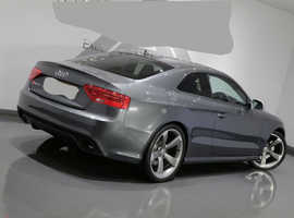 Audi A5, 2012 (62) grey coupe, Automatic Petrol, 45,000 miles