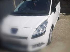 Peugeot 5008, 2014 (63) White MPV, Semi auto Diesel, 94,560 miles