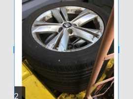 Car Wheels X2