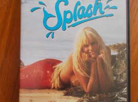 SPLASH MERMAID MOVIE DVD PG TOM HANKS DARYL HANNAH IN VERY GOOD CONDITION