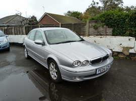 Jaguar X-TYPE, 2004 (04) Silver Saloon, Automatic Petrol, 56,000 miles