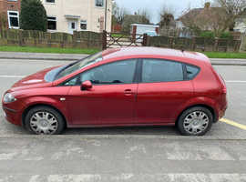 Seat Leon, 2008 (08) Red Hatchback, Manual Petrol, 115,000 miles