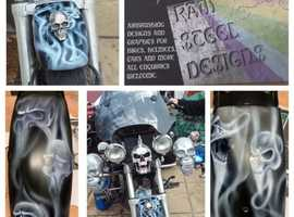 Airbrush art and design