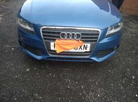 Audi A4, 2008 (58) Blue Estate, Manual Diesel, 92,393 miles