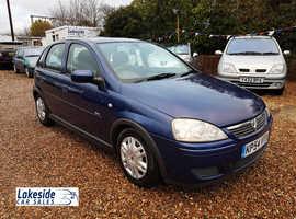 Vauxhall Corsa 1.2 Litre 5 Door Hatch, New MOT With No Advisories, Service History, Cheap Insurance.