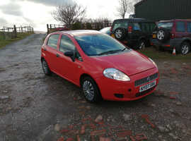 Fiat GRANDE PUNTO ACTIVE 65, 2009 (09) Red Hatchback, Manual Petrol, 94,713 miles