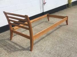 Single bed frame, headboard, footboard
