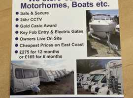 Northfield Caravan Storage in Hornsea East Yorkshire