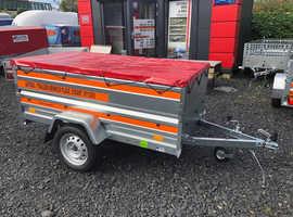 6x4 single axle trailer TEMARED ECO 2019 double broadside