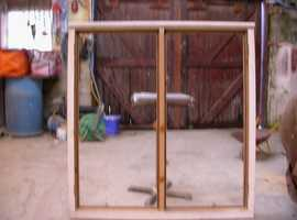 traditional softwood d/g window new