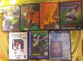 Megadrive  games.selling per game..1990s original