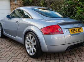 "2002 Audi TT 8N 225 BAM Quattro. Avus Silver, FSH, Bose, 18"" Alloys. Stunning!"