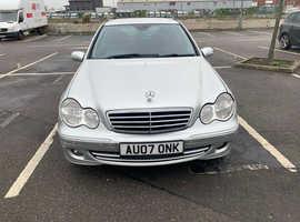 Mercedes C220 Avantgarde, 2007 (07) Silver Estate, Automatic Diesel, 141,200 miles