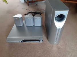 JVC surround sound DVD player