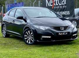 2013 Honda Civic 1.6 i-DTEC EX Lovely Diesel 5 Door Civic....Up to 85MPG....£Zero Road Tax !!