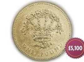 1986 Flax Pound Coin Unique