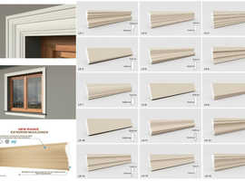 Exterior moulding cornices Large selection, Modern and classic profiles QUOINS, BELT AND CROWN CORNICES, WINDOW SILL AND FRAME CORNICES