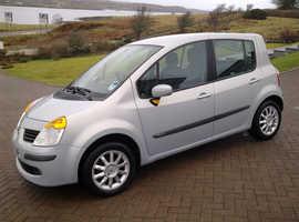 Renault Modus, 2008 (57) Silver Hatchback, Manual Petrol, 98,000 miles