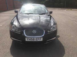 Jaguar Xf, 2008 (58) Black Saloon, Automatic Diesel, 146,493 miles