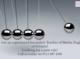 Are you a Secondary School Teacher of core subjects?