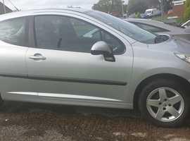 Peugeot 207, 2010 (10) Silver Hatchback, Manual Petrol, 67,338 miles