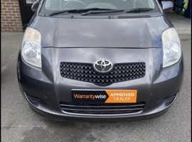 Toyota Yaris, 2008 (57) grey hatchback, Manual Petrol, 95,542 miles