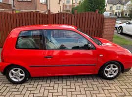 Volkswagen Lupo, 2001 (Y) Red Hatchback, Manual Petrol, 73,000 miles.