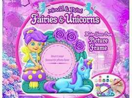Make Your Own Fairies And Unicorns Picture frame