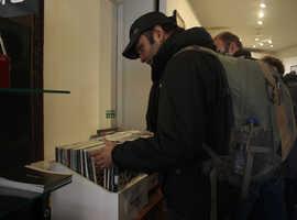 Vinyl Record Store Sale