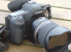 Canon Eos 5d Mark111 with Tamron sp24-70mm 2.8 lens
