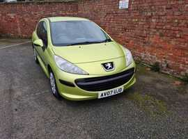 Peugeot 207 S+1.4 8V PETROL 2007 (07) 99,000 MILES 3 OWNERS 12 MONTHS M.O.T
