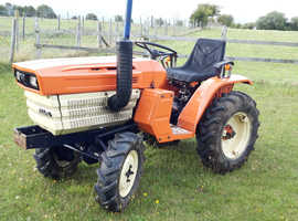 Kubota B1400DT 4wd compact tractor in excellent condition £3250 ono
