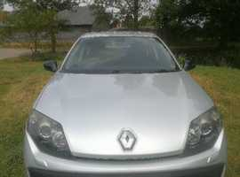 Renault Laguna, 2010 (10) Silver Hatchback, Manual Diesel, 82,400 miles