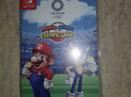 Switch game Mario and sonic at the Olympics 20/20