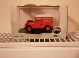 Oxford commercials Bertram Mills Circus Land rover